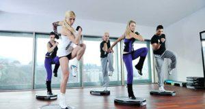 Ομάδα που ασκείτε στο γυμναστήριο